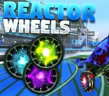 ROCKET LEAGUE [XBOX ONE] ALL PAINTED REACTOR WHEELS (EXOTIC REACTORS) TRUSTED!