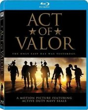 Act of Valor: Action-Adventure Movie, Blu-ray, 2017, New, Sealed,