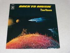 33 tours - THEO VANESS - BACK TO MUSIC - 1978