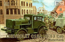 CHEVROLET C15A CAB WATERTANK (2nd CANADIAN ARMOURED BRIGADE MARKINGS) 1/72 IBG