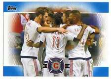 2017 Topps MLS Soccer Blue Parallel /99 #170 Chicago Fire Soccer Club