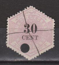 TG8 Telegram 8 used NVPH Nederland Netherlands Pays Bas 1877