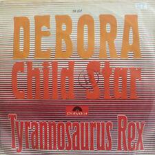 "7"" 1968 GLAM GERMAN PRESS RARE IN VG+ ! TYRANNOSAURUS T. REX : Debora"