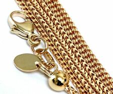 "New 14k yellow gold 1.23mm Franco link chain necklace adjustable up to 22"" 5.56g"