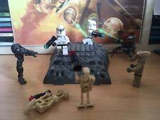 Star Wars Lego - Geonosian Battle, Clone Trooper, Droideka, Mini Figures Lot 00