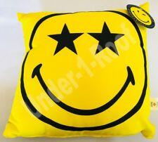 PRIMARK SMILEY WORLD EMOJI FACES CUSHION PILLOW - 35CM X 35CM - Brand New