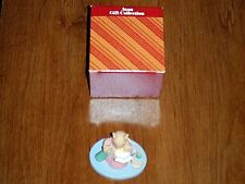 AVON FOREST FRIENDS STORYTIME MINI MOUSE FIGURINE COLLECTIBLE VINTAGE