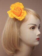 Amarillo Rosa Clip pelo