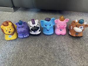 VTech Baby Toot-toot Animals Bundle - Lion,hippo,zebra,elephant,pig & Cow