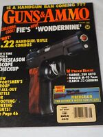 GUNS & AMMO Magazine AUG.1988 IS A HANDGUN BAN COMING???