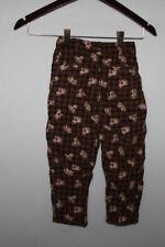 Prénatal Brand Toddler Corduroy Pants Teddy Bears Lined Sz 2/3 Anos 95/101 CMS