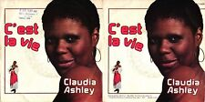 DISCO 45 GIRI   CLAUDIA ASHLEY ‎– C'EST LA VIE    (part 1 e 2)    promo