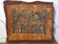 Rare Antique Ancient Egyptian Papyrus King Tutankhamun & wife Flowers Love1325BC
