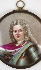 Hand Painted Miniature Portrait Austrian-Spanish Order of the Golden Fleece