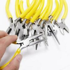 Multi-Purpose Jewelry Pliers Round Nose End Cutting Wire Pliers DIY Hand Tools