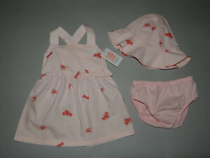 NWT, Baby girl clothes, 6 months, Carter's 3 piece set/  ~~SEE DETAILS ON SIZE~~