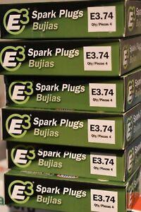4 PACK IN BOX - Spark Plug-Base E3 Spark Plugs E3.74