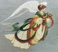 Lavender & Lace ANGEL OF AUTUMN LL30 Leavitt-Imblum Sealed Chart Pattern  1994