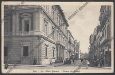 BARI CITTÀ 142  BANCO DI NAPOLI - BANCA - AUTO dìEPOCA Cartolina viaggiata 1941