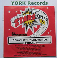 "STARSOUND - Stars On 45 (3) - Excellent Condition 7"" Single CBS A 1521"