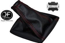 Rojo Costura Manual Cuero Gear Polaina encaja Kia Sorento Suv 2002-2009