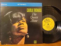 CARLA THOMAS - THE QUEEN ALONE Stax 1967 Funk Soul Stereo Vinyl LP VG+!