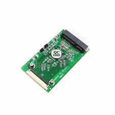 "1.8"" mSATA PCI-E SSD to 40pin ZIF CE Cable Adapter Converter Card Win98/SE"