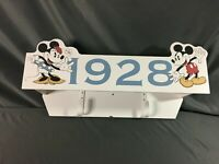Vintage Disney at Home Mickey Mouse 1928 Shelf Bedroom Decor 23""