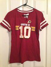 Redskins RG3 Griffin NFL M medium Licensed Tee Sexy Fit V Neck