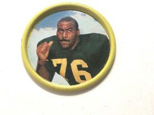 1962 Gene BIG DADDY Lipscomb Football Salada-Junket Coin Excellent Pitt Steelers