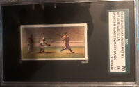 BABE RUTH 1929 Churchman Sports & Games Babe Ruth #25 SGC 5.5 EX+ MINT 🔥RARE🔥