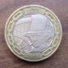 Isambard Kingdom Brunel 2 £ deux livres pièce commémorative 2006 ingénieur 1806-1859