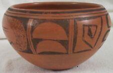 1940's  southwest Walpi pottery bowl by Elizebeth Tootsie