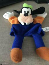 "7.5"" Disney Mcdonalds 2001 Goofy Mickey Plush Hand Puppet new in bag"
