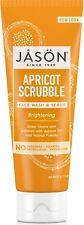 JASON BRIGHTENING APRICOT SCRUBBLE - PURE NATURAL FACIAL WASH 113g - FREE UK P&P