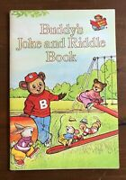 BUDDY'S JOKE AND RIDDLE BOOK Wanda Haan Jim Robison 1982 Weekly Reader Vintage