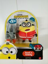MINIONS LOUD N ROWDY OTTO FROM THE MOVIE RISE OF GRU