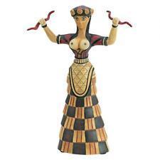 Cretan Minoan Goddess Statue Iraklion Museum Replica Reproduction