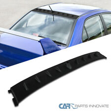 Non EVO 2008-2015 Qiilu Black Car Rear Roof Trunk Spoiler Wing Lip Fit for Mitsubishi Lancer