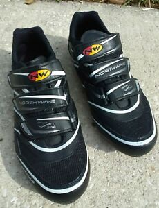 NORTHWAVE ROAD BIKE SHOES Woman sz 10.5 U.S NORTHWAVE CYCLING BICYCLE SHOES