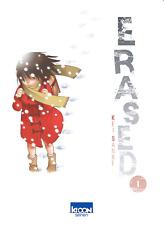 manga Erased Tome 1 Seinen Kei Sanbe Ki-Oon ! AD Astra Thriller Fantastique VF