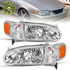 Fit For 2001 2002 Toyota Corolla Headlights Assembly Headlamp Corner Signal Lamp Fits 2002 Toyota Corolla
