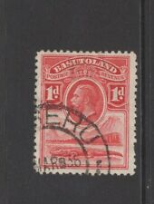 BASUTOLAND GEORGE V 1d RED With MASERU POSTMARK