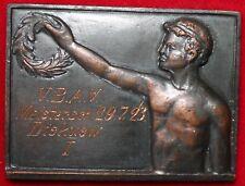 LEICHTATHLETIK MEDAILLE * VBAV * VERBAND BERLIN BRANDENBURG MEISTERSCHAFT 1923