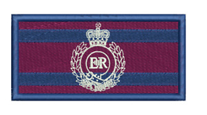 Royal Engineers / Cypher Embroidered Badge/Flash/TRF