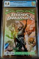 Dark Nights Death Metal Legends Knights #1 CGC 9.8 Cover A 1st print Robin King