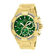 Invicta Bolt 25869 Men's Green Chronograph Day Date Cable Bezel Analog Watch