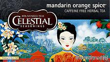 Mandarin Orange Spice Herb Tea, Celestial Seasonings, Pack of 6