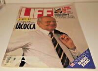 June, 1986 LIFE Magazine LEE IACOCCA, FREE SHIPPING 6 86 advertising ads add ad