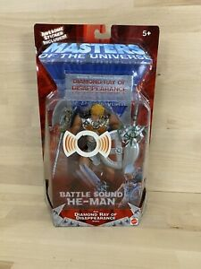 He Man Battle Sound Mattel Masters of the Universe Action Figure New Sealed